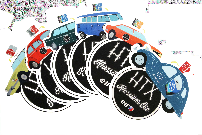 Sticker Set Classic von ELF HTX